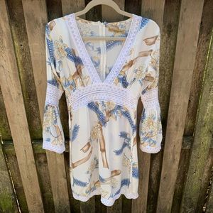 Dress/San Lorenzo- Ibiza Hand made Dress